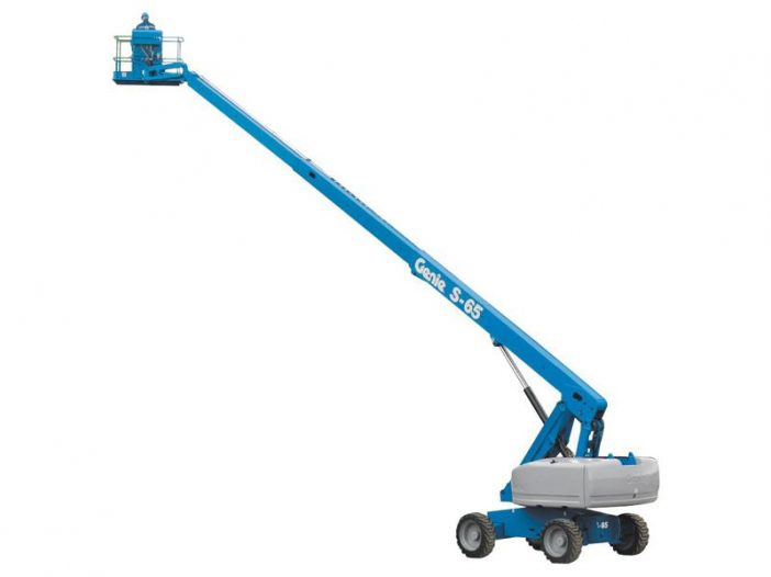 genie s65 boom lift elevation