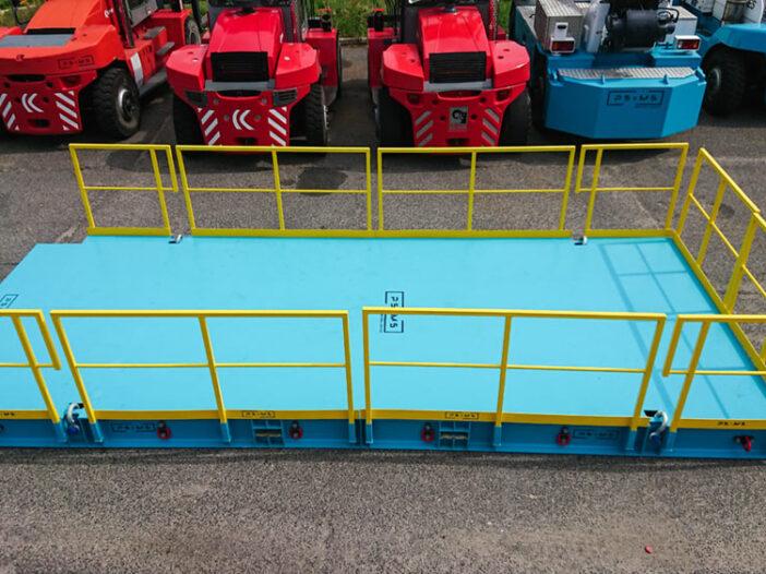 platforma 15 ton