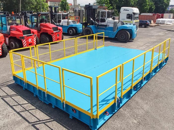 platforma 24 ton